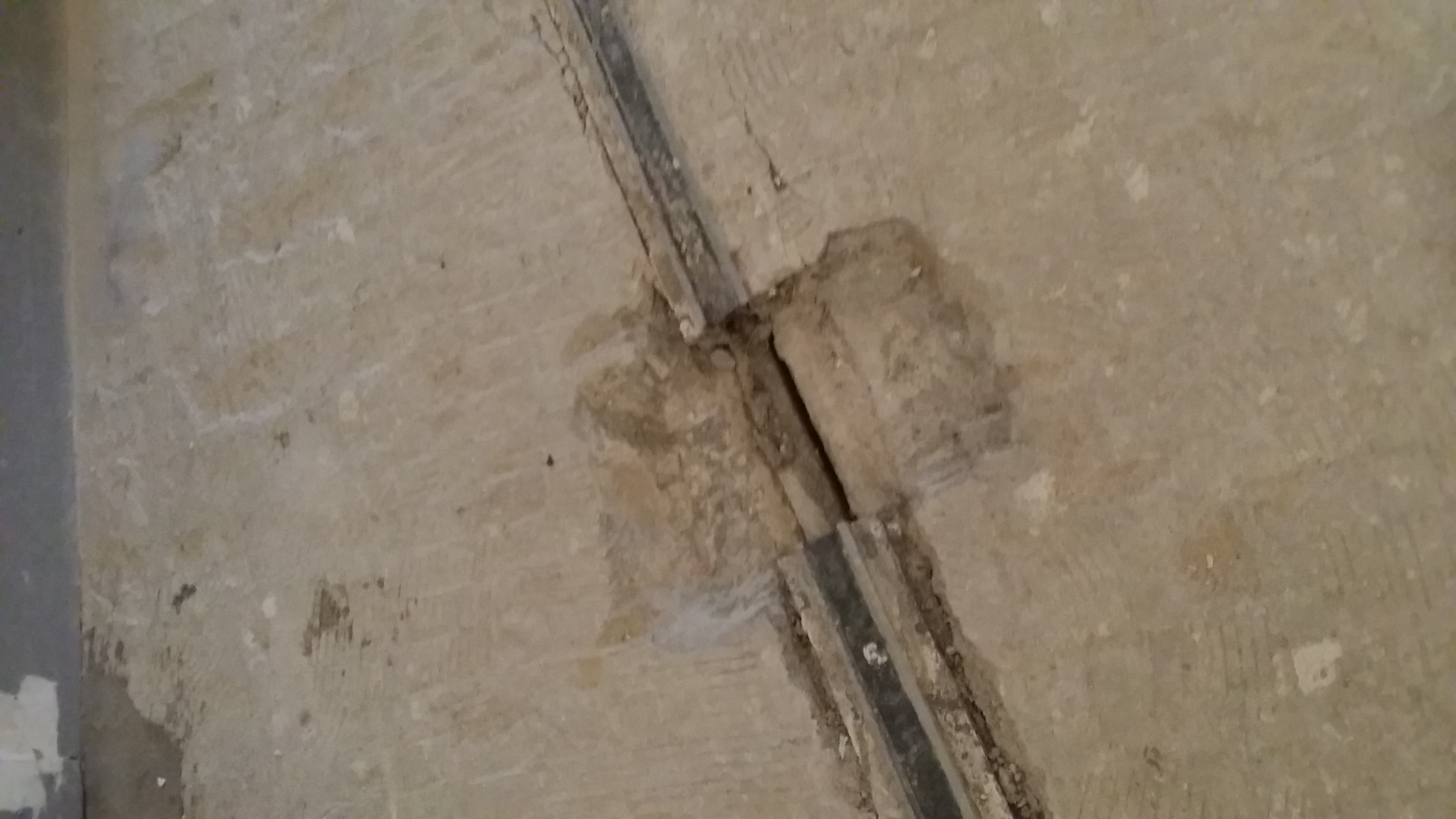 In Progress Expansion Joint Repair