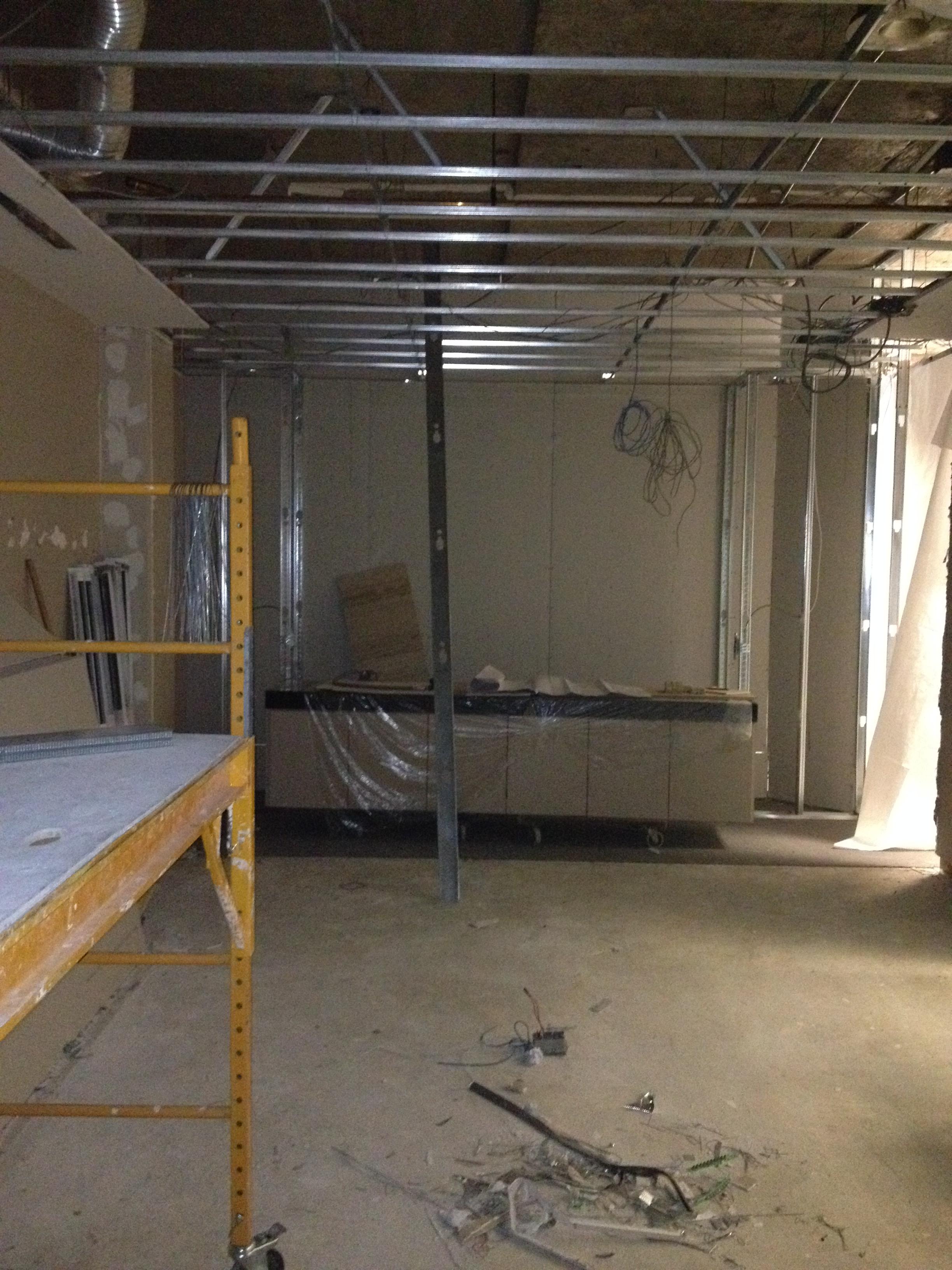 In Progress - New Boardroom for Accord Financial