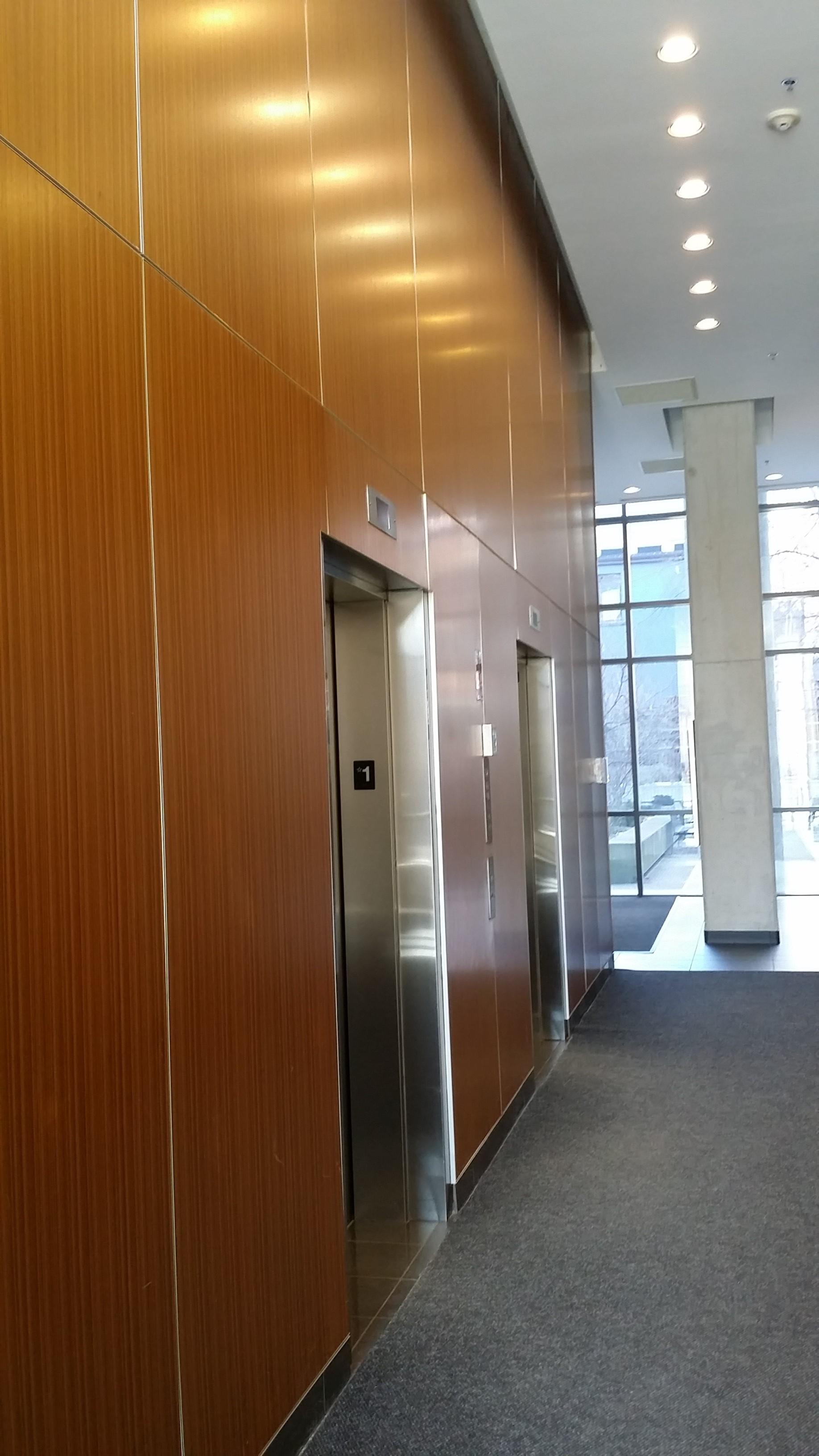 Existing Elevator Lobby