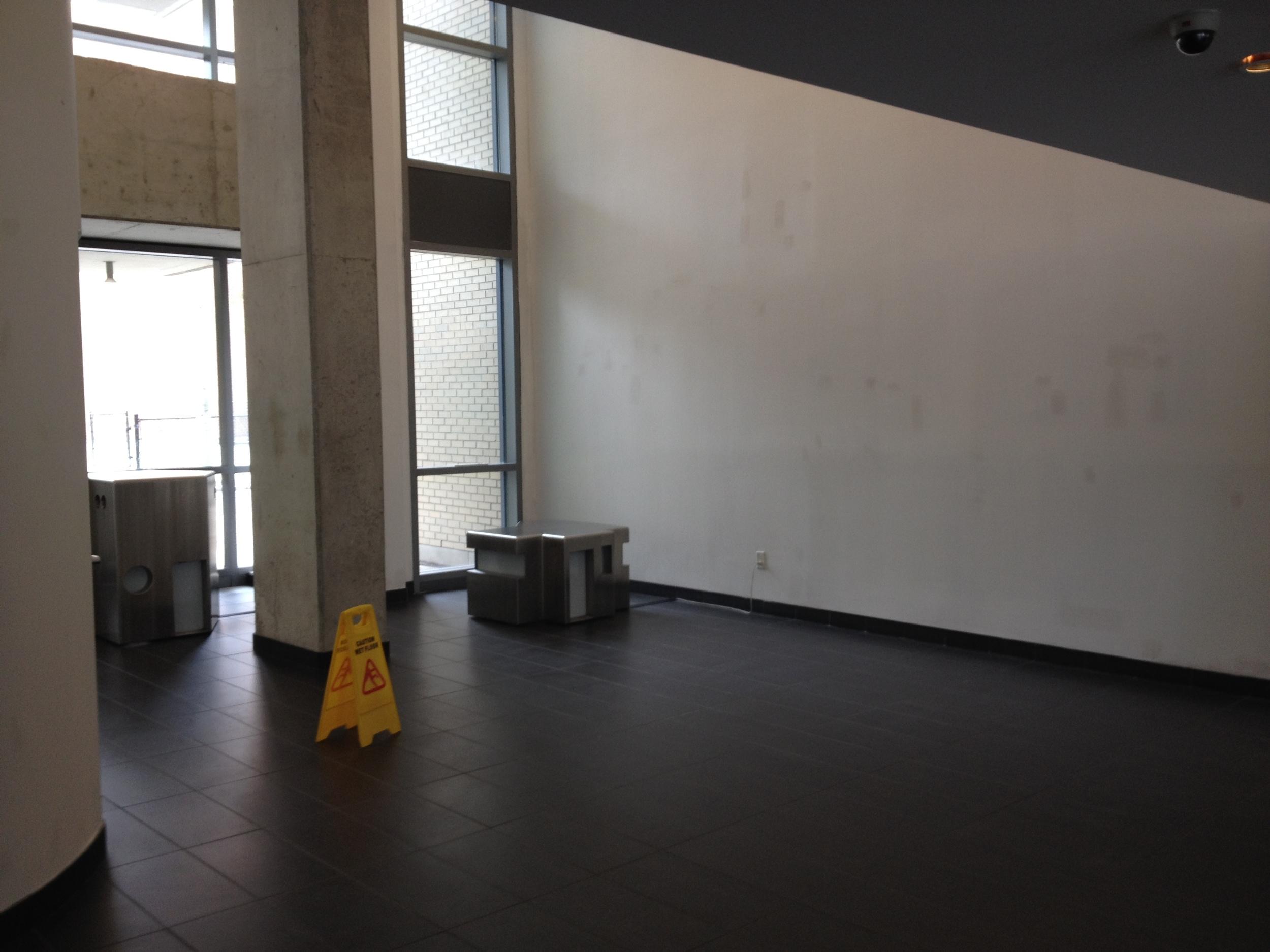 In Progress - North Sofa Wall
