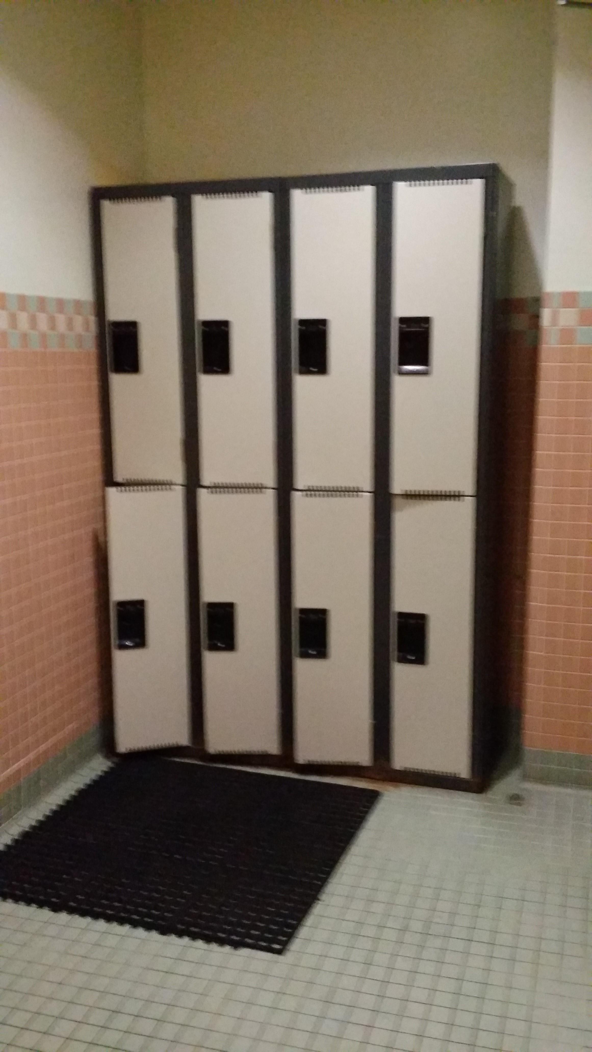 Lockers Before
