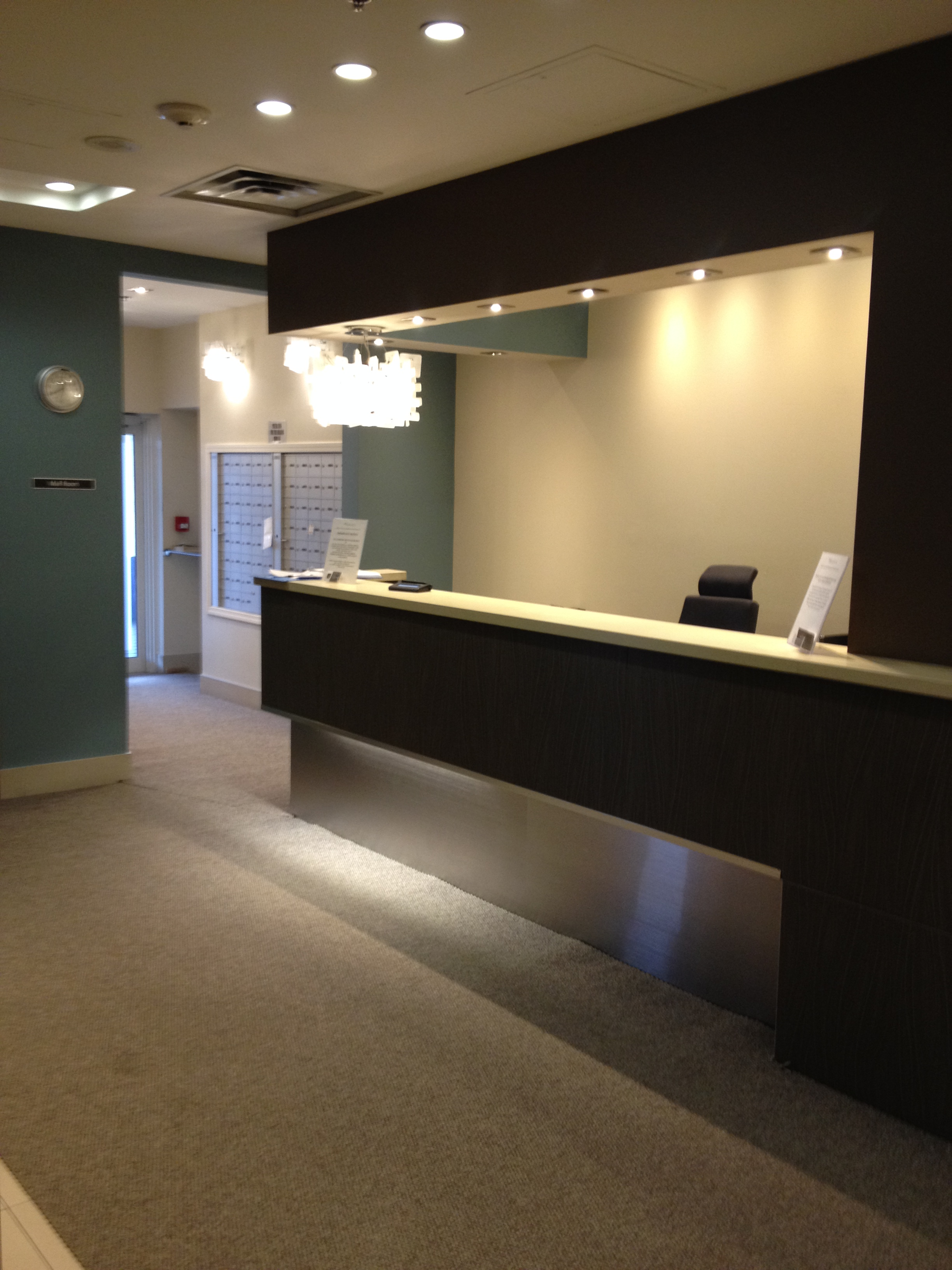 Before - Security Desk