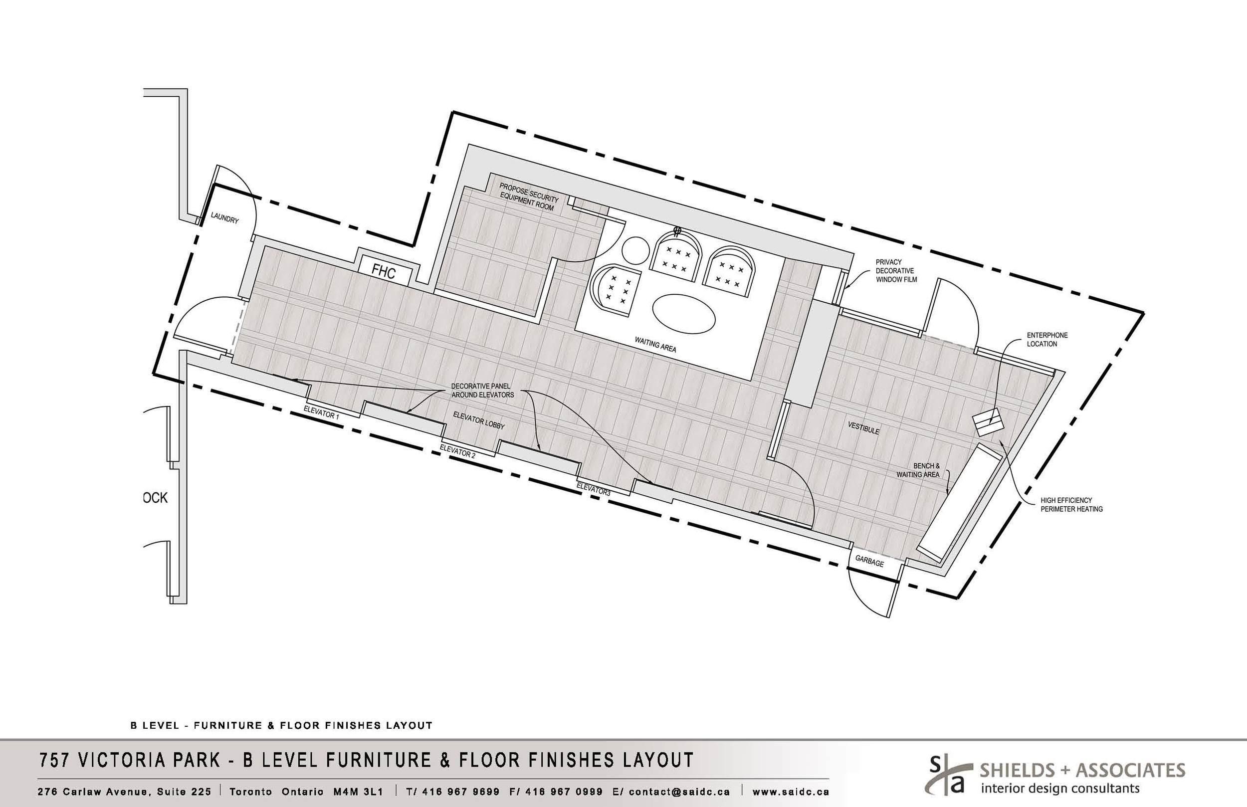Approved Design Board   - Level B Furniture & Floor Finishes