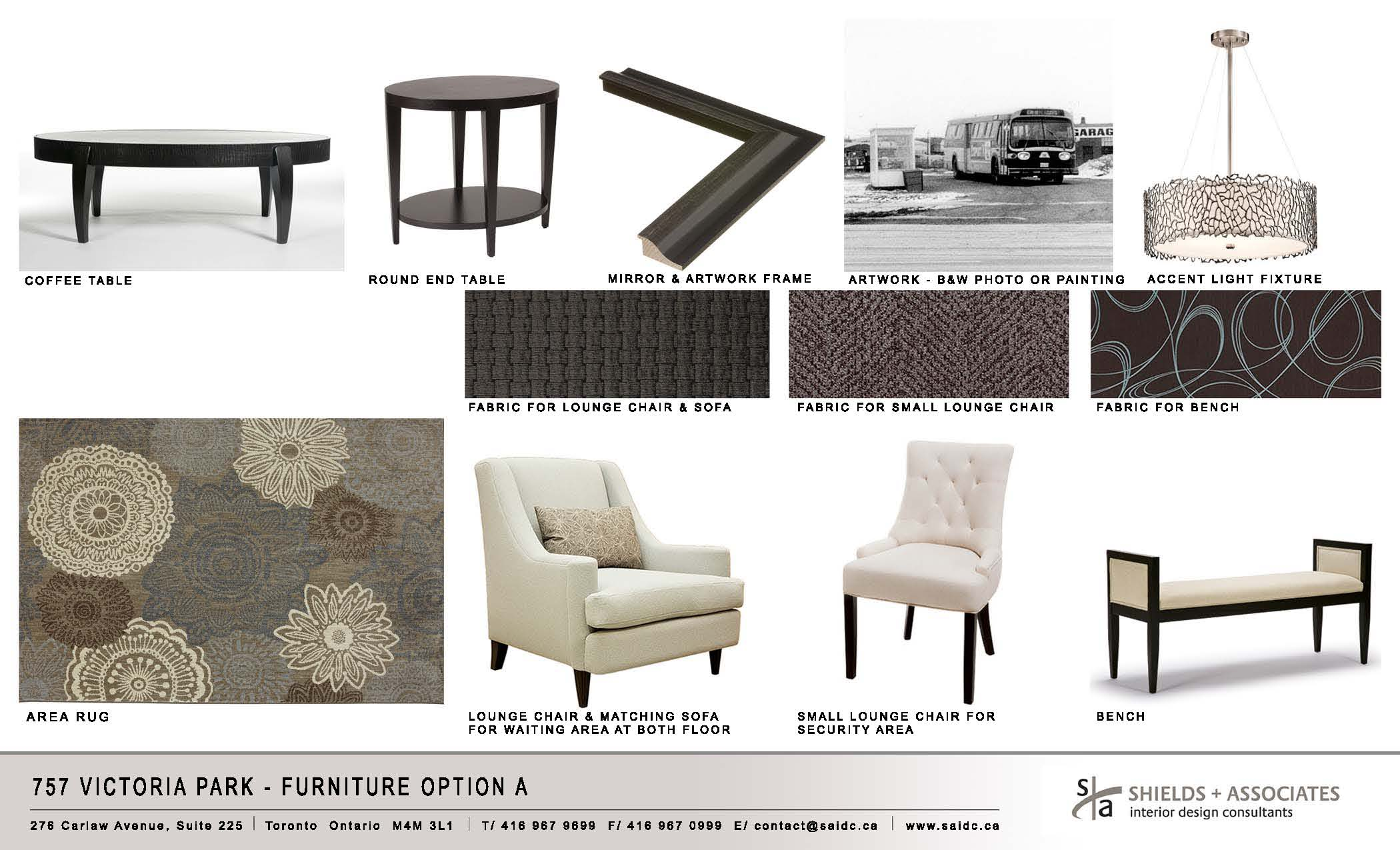 Furniture Option A