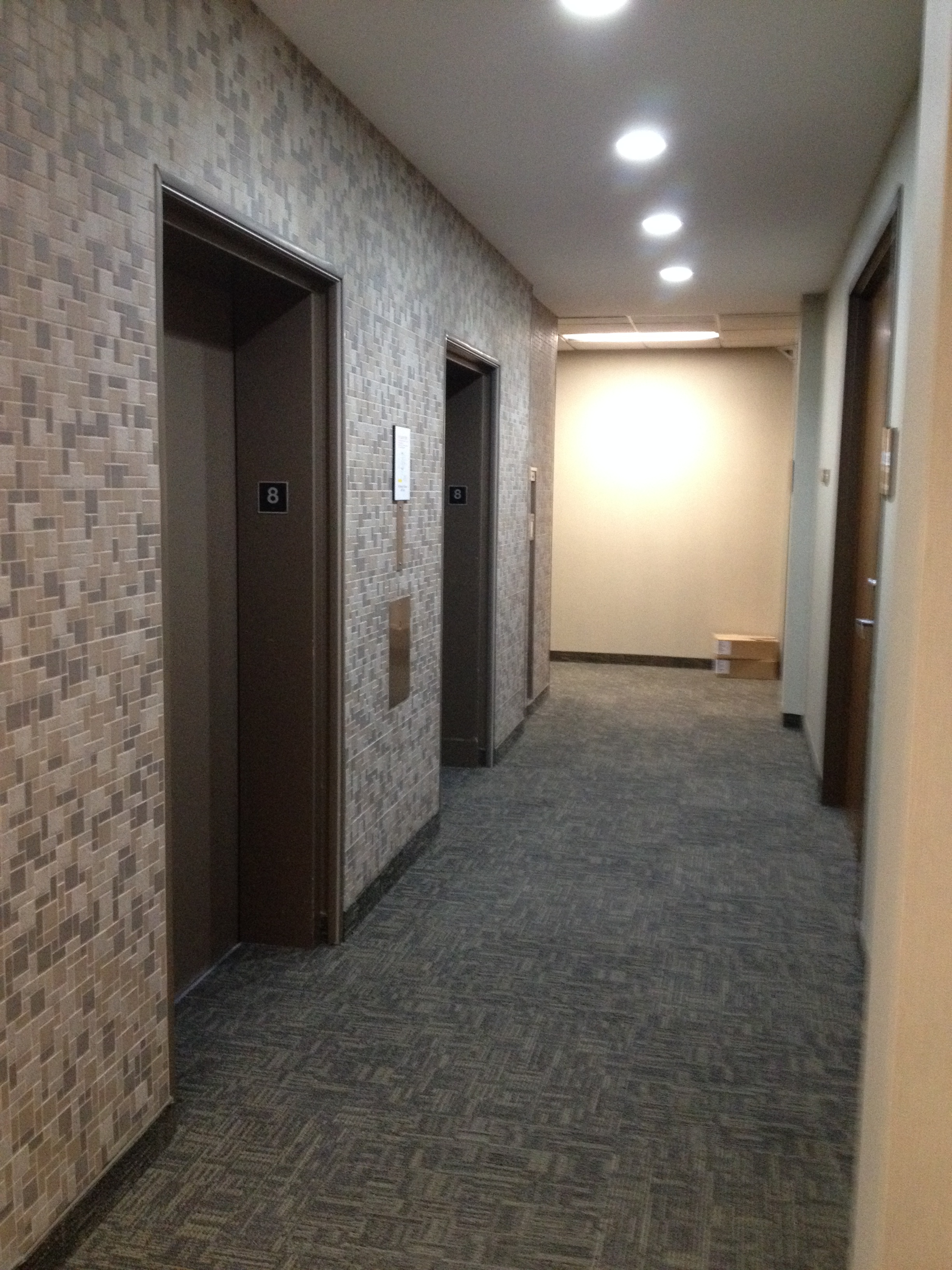 Before - Elevator Lobby