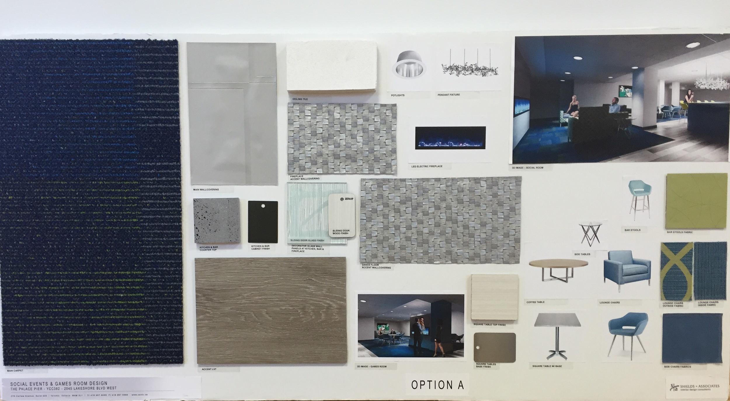 Design Board Option A