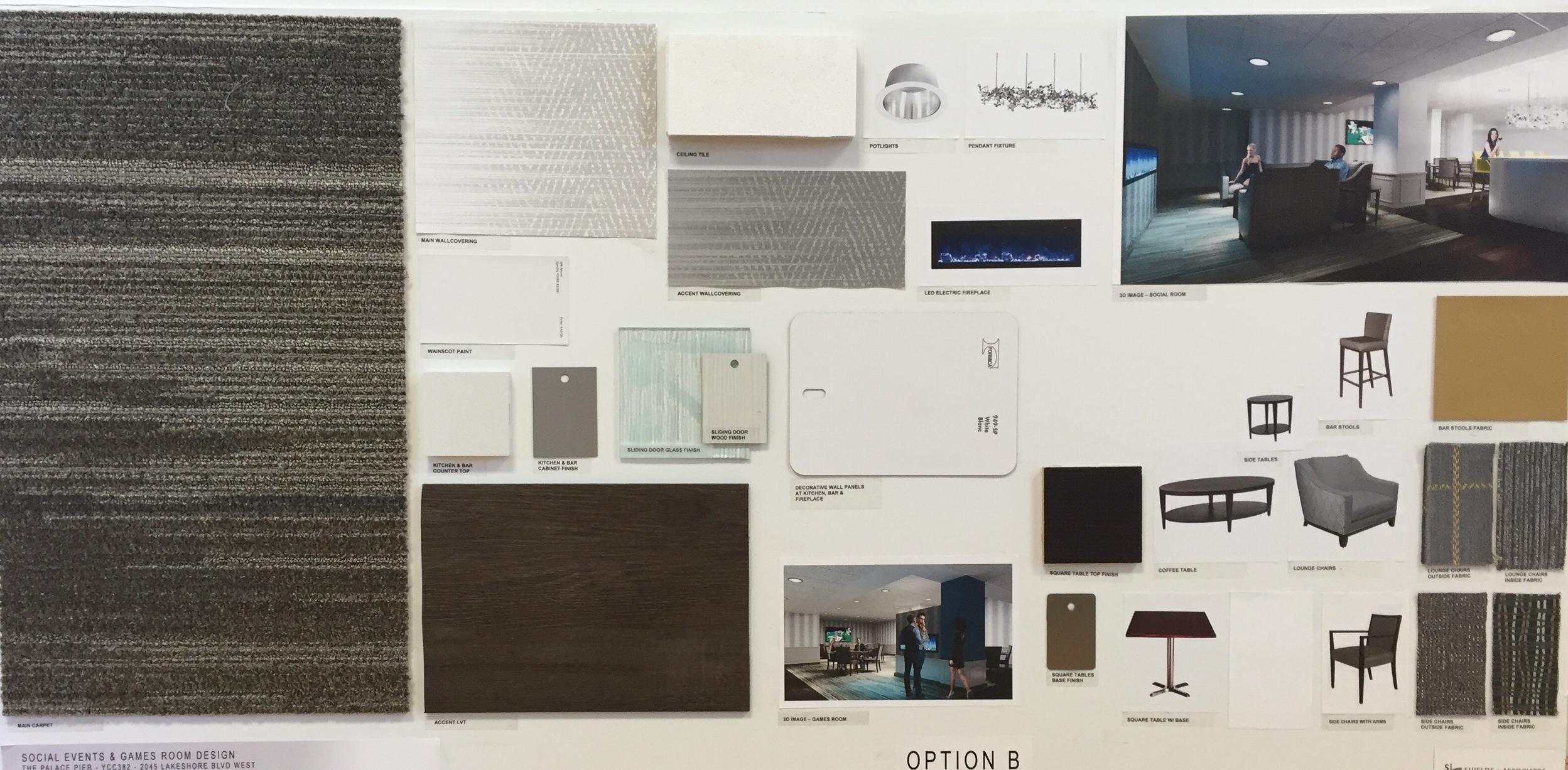 Design Board Option B