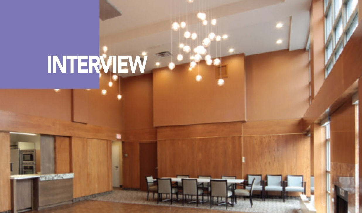 ARTICLE  IDC'S SARAH BRADBURY CAUGHT UP WITH VITORHYA SHIELDS IN AN INTERVIEW ABOUT AN AMENITIES MODERN MAKEOVER IN A FOREST HILL CONDO BUILDING