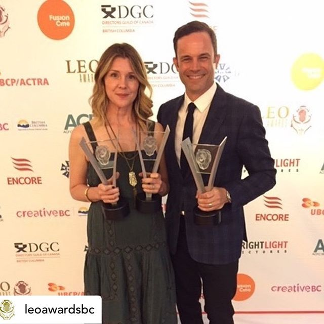 A big congrats to all who have helped us make Salt, Fresh & Field over the last few years - we just won 5 Leo Awards; each category we were nominated in. More to come...! @mustbemary @amacrich @secretstudy @storyhive #saltfreshfield #leoawards19