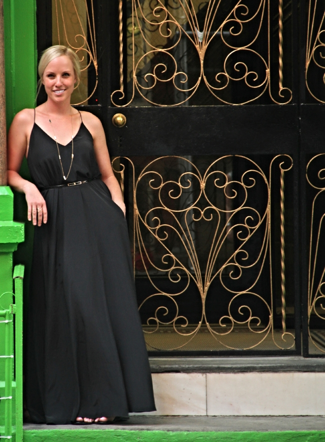 casual classic. green door