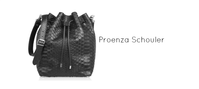 casual classic. proenza schouler bag