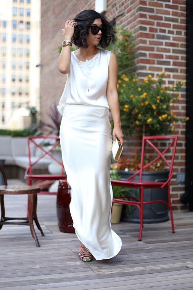 casual classic. cream & white