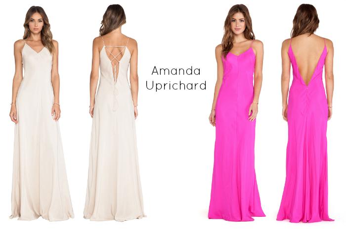 The Casual Classic - Amanda Uprichard Silk Maxi