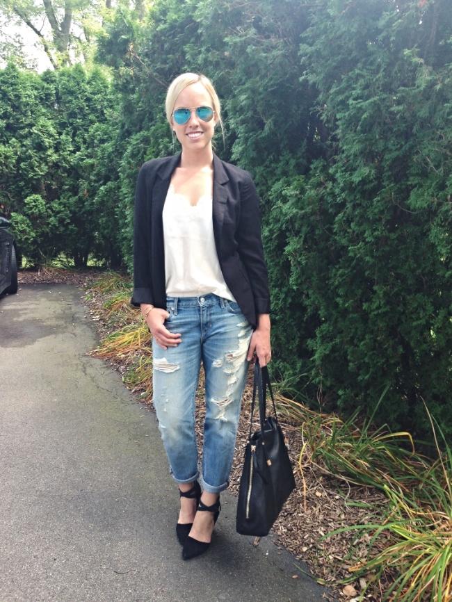 The Casual Classic // Gap Boyfriend Jeans