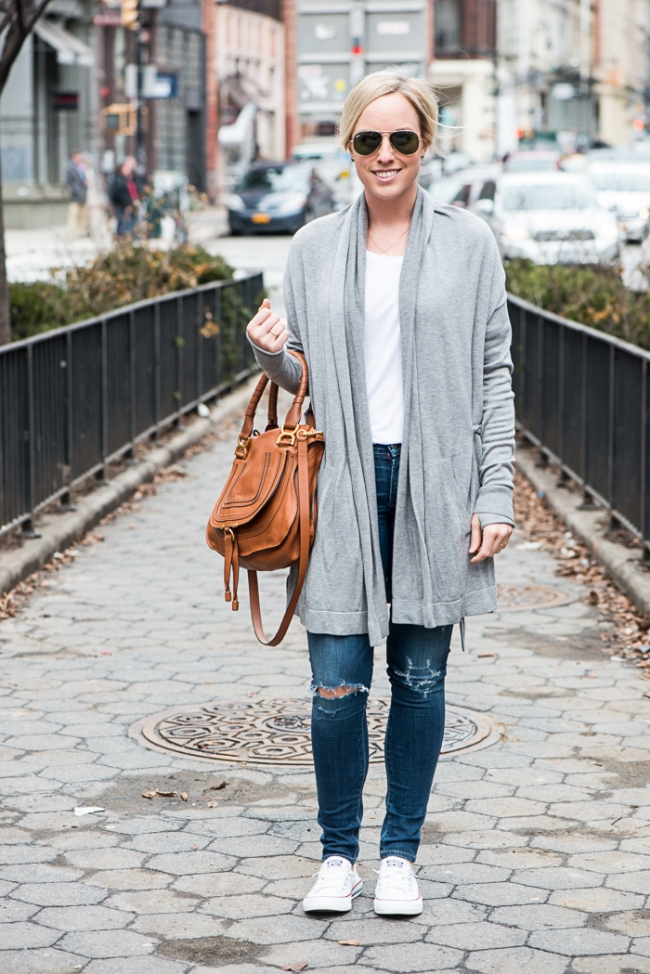 The Casual Classic | Lululemon Wrap Sweater