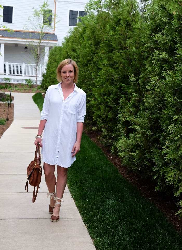 The Casual Classic // Shirt Dress