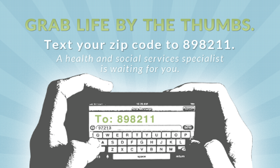 When folks text their zip code to 898211 good things happen.