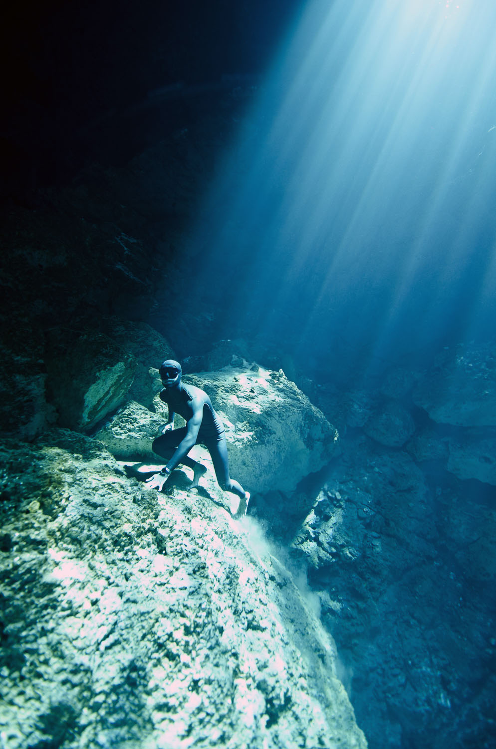 Freediving the Cenotes