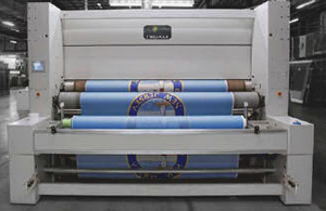 Custom printed -