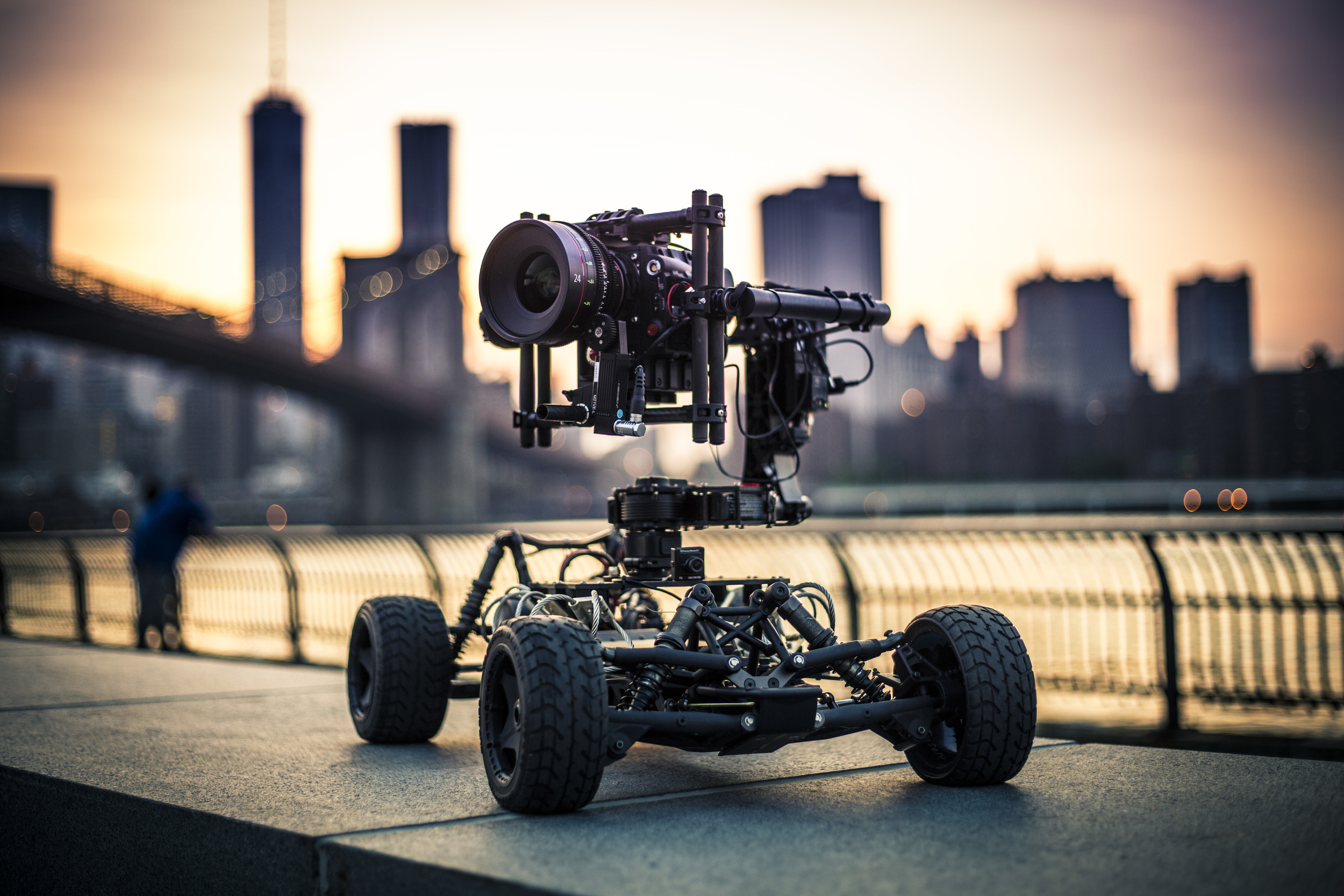 FREEFLY TERO with RED Epic Dragon