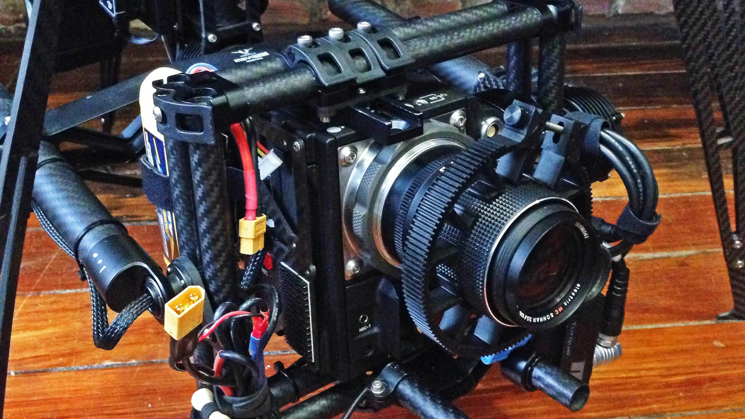 RED Epic Dragon with 135mm lens