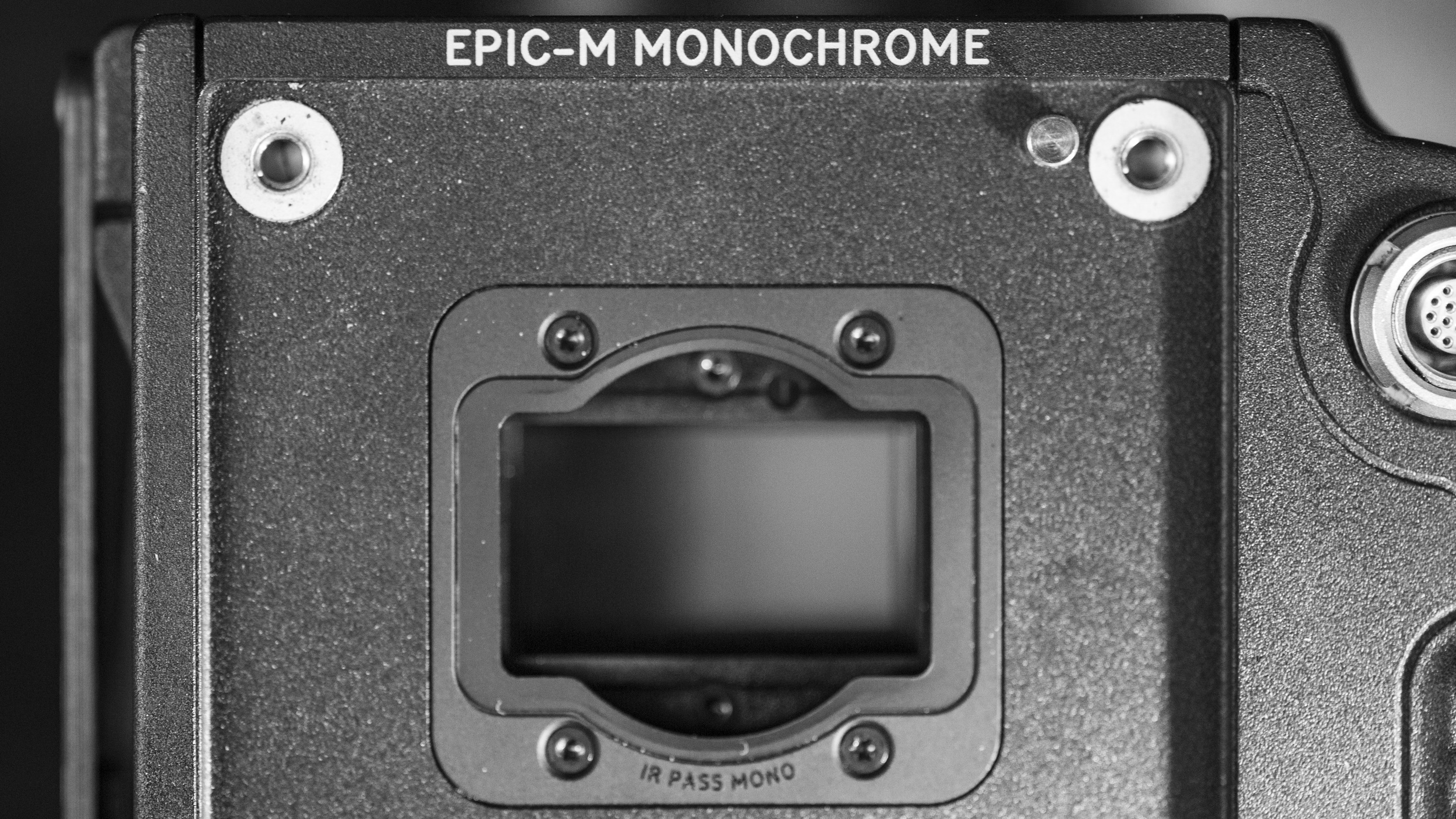 RED Epic Dragon Monochrome with IR Pass Monochrome OLPF