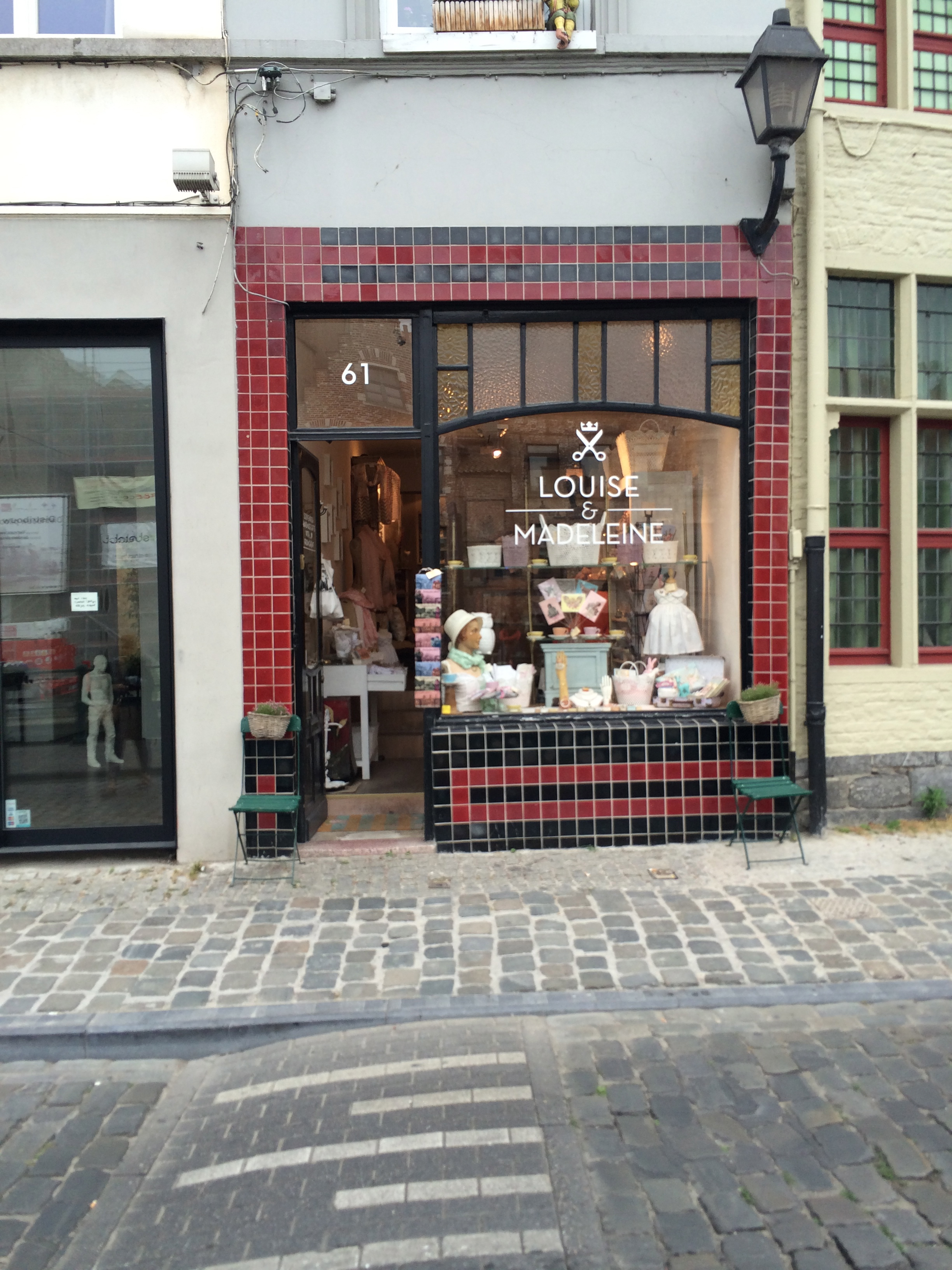 Louise and madeleine childrens shop in Ghent. Weekend in Belgium looking at beautiful products and stores.