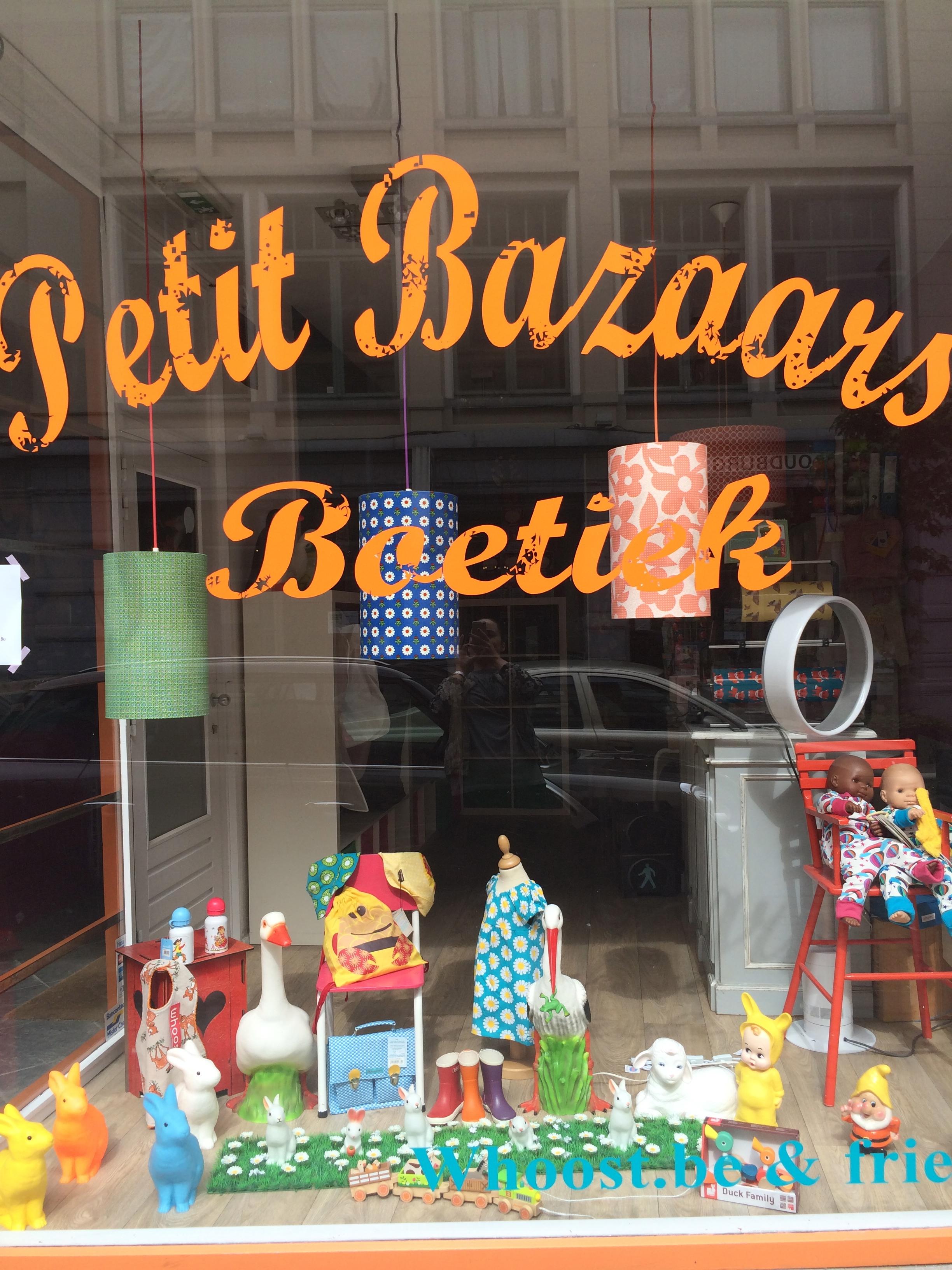 Petit Bazaars childrens shop in Ghent Belgium.
