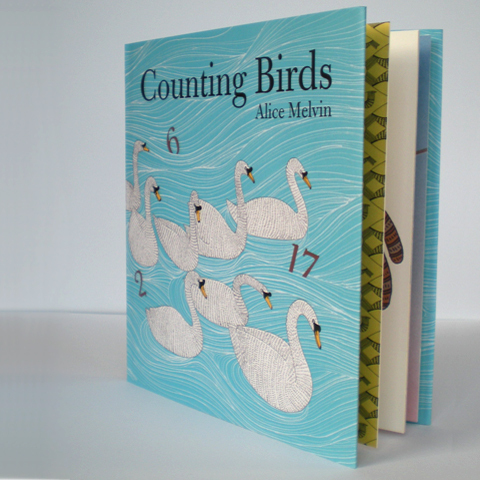 Counting Birds book £6.99 by Alice melvin available at The Tate.