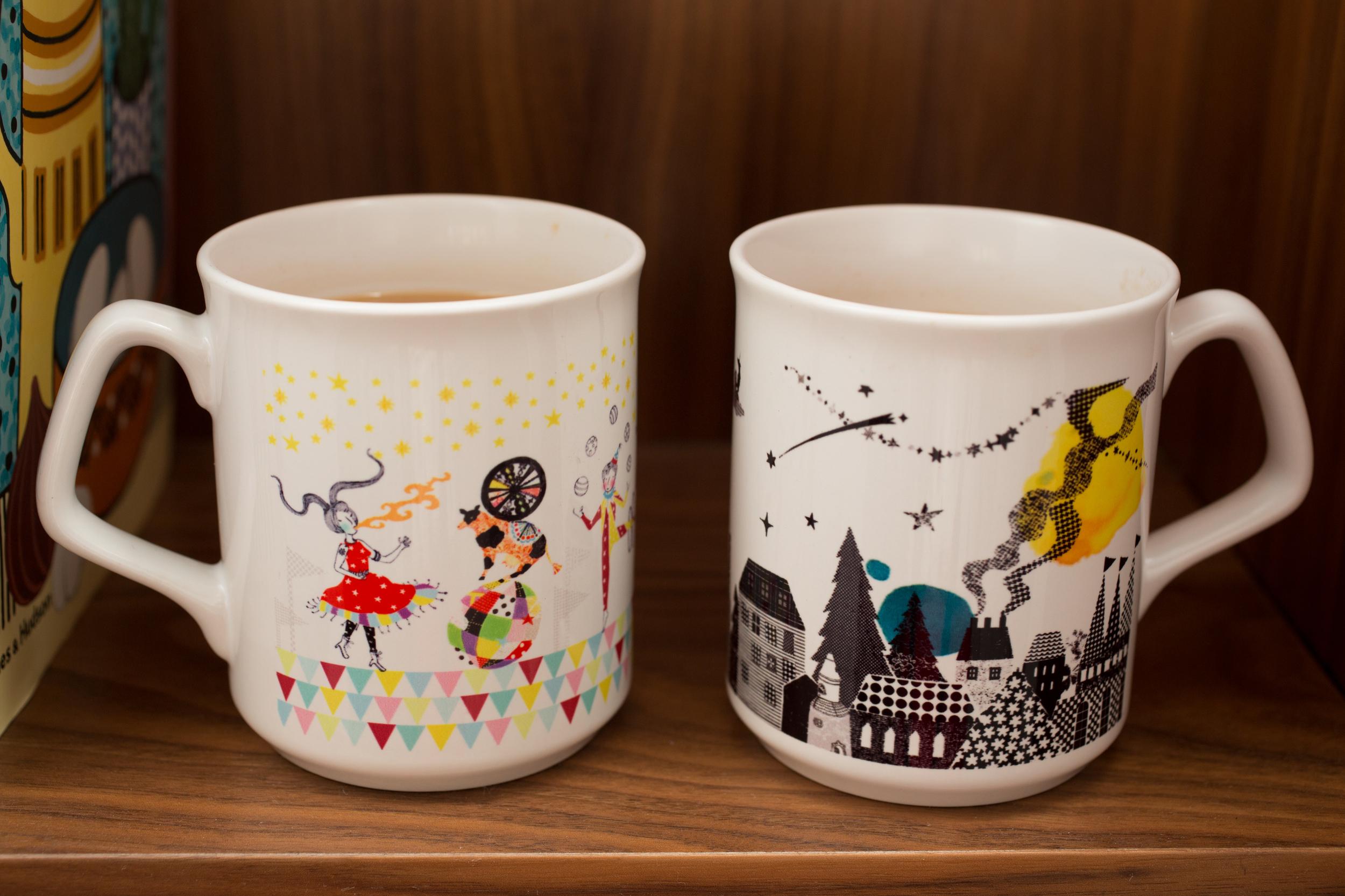 Mugs by Sas & Yosh