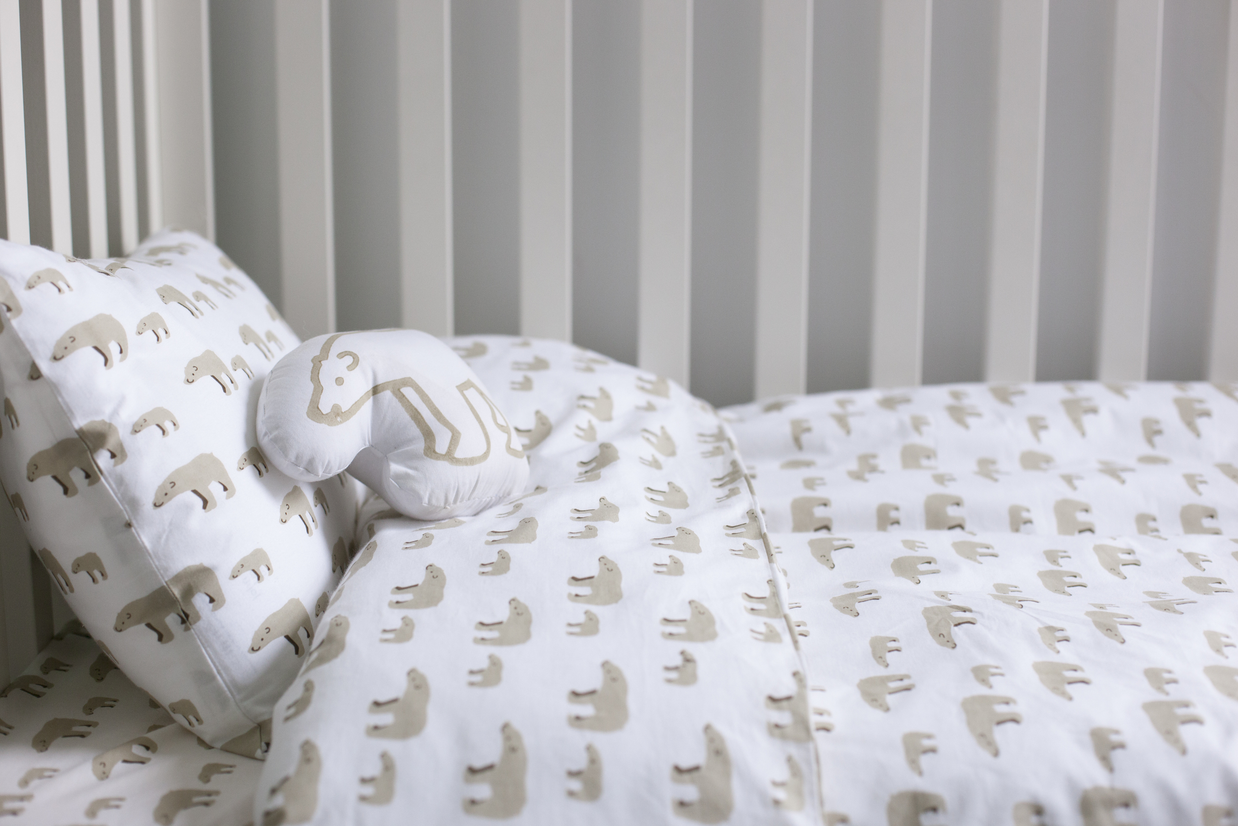 Bear duvet set £49
