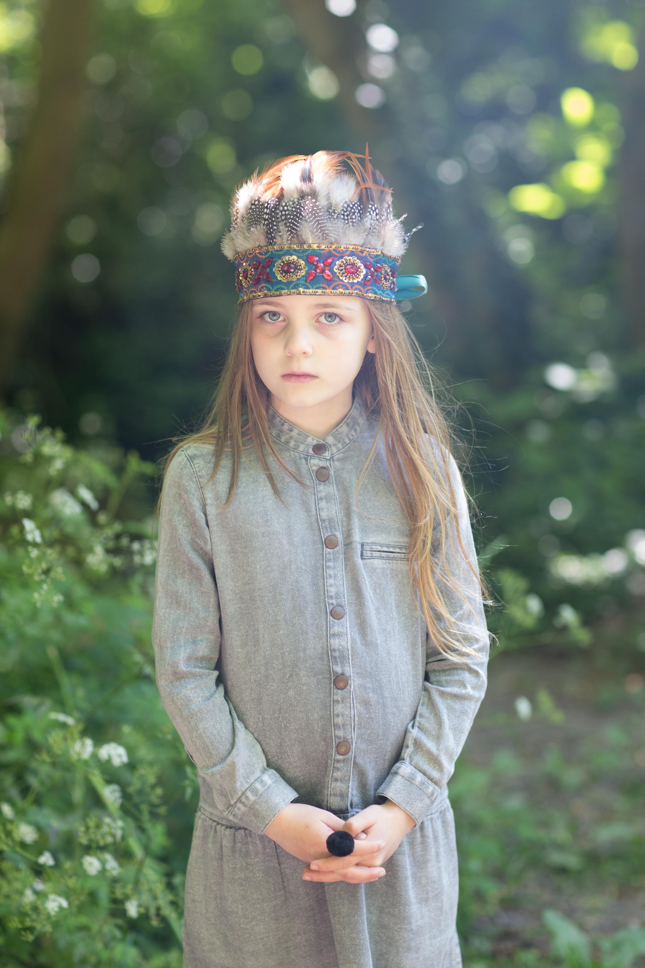 Black pom pom ring £4  A Mini Penny . Headdress £30  Jolly Brown Vintage