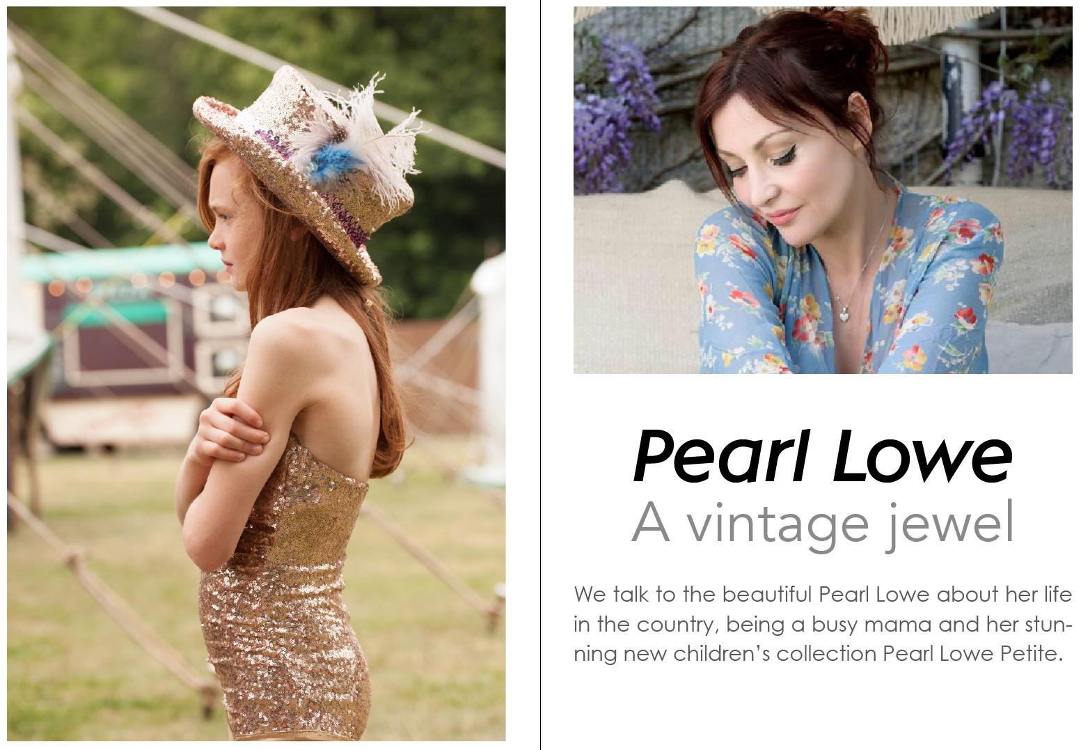 pearl lowe interview