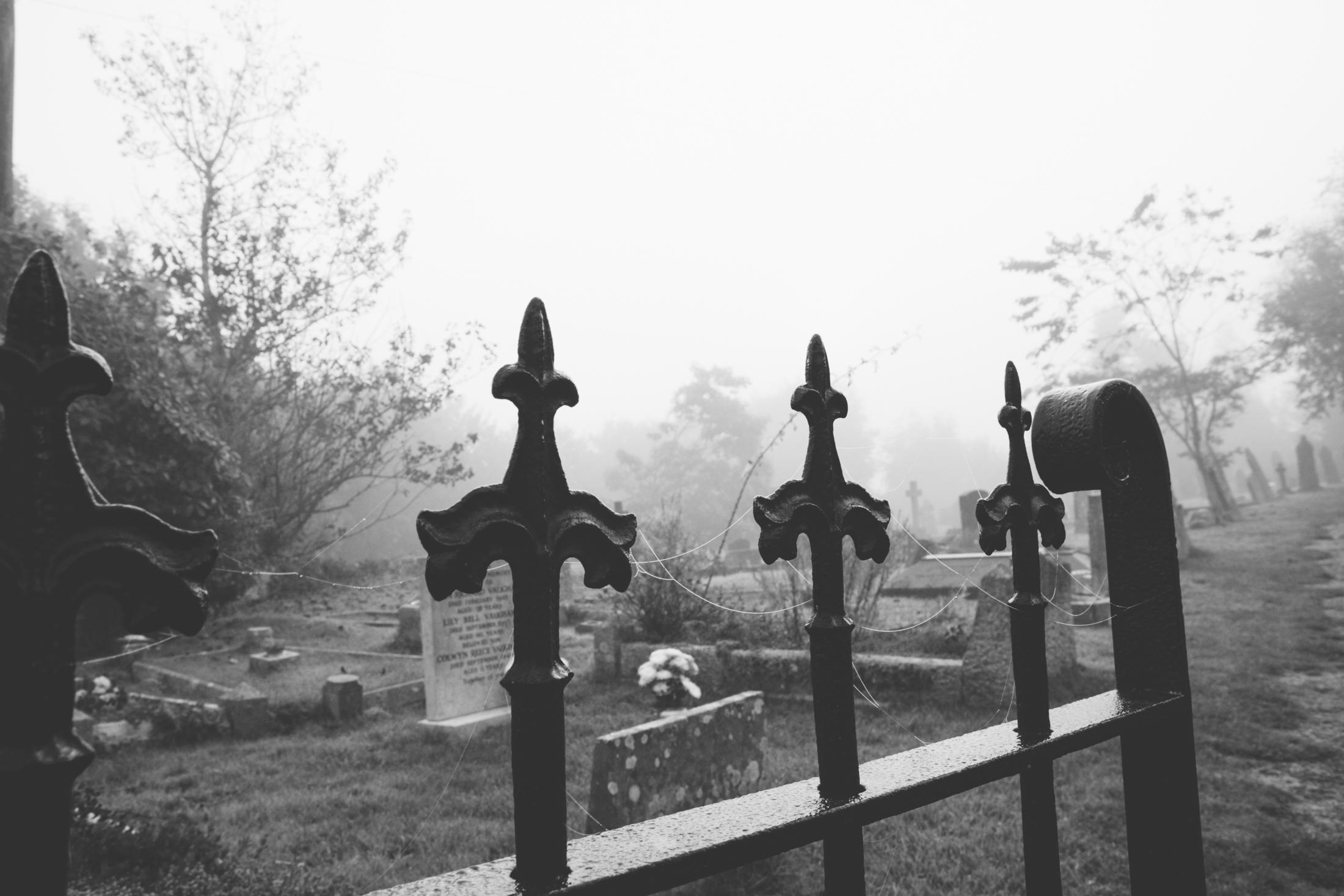 St Briavels castle church graveyard