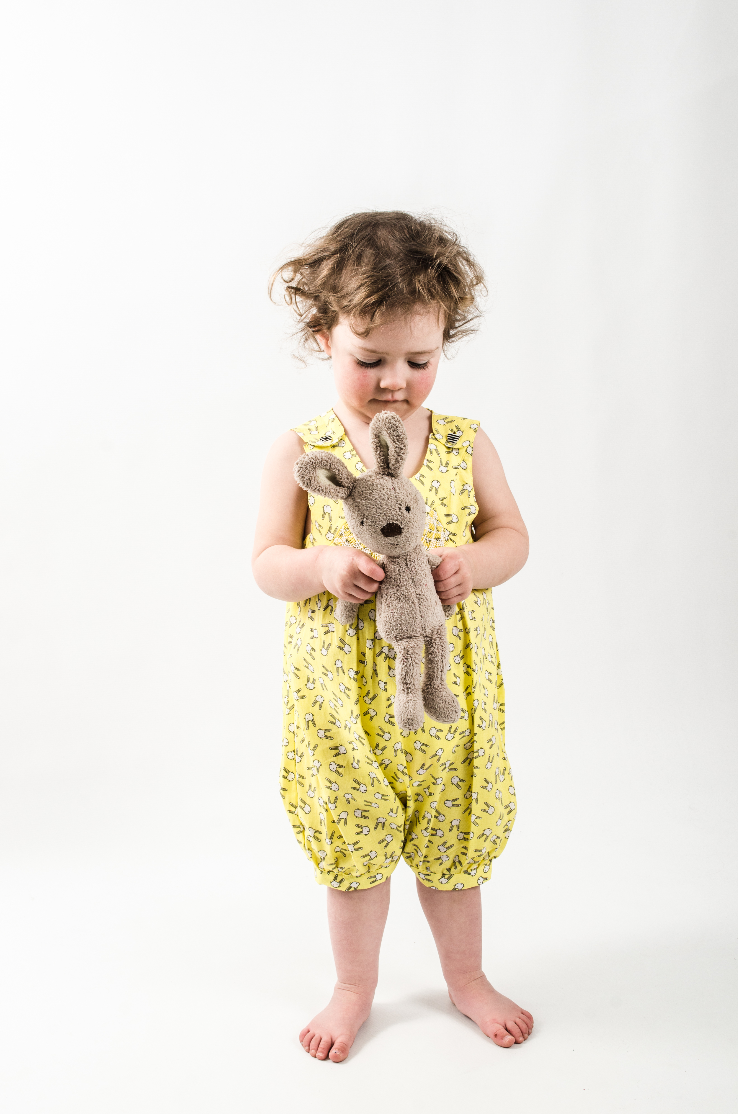 Question Everything London bunny romper