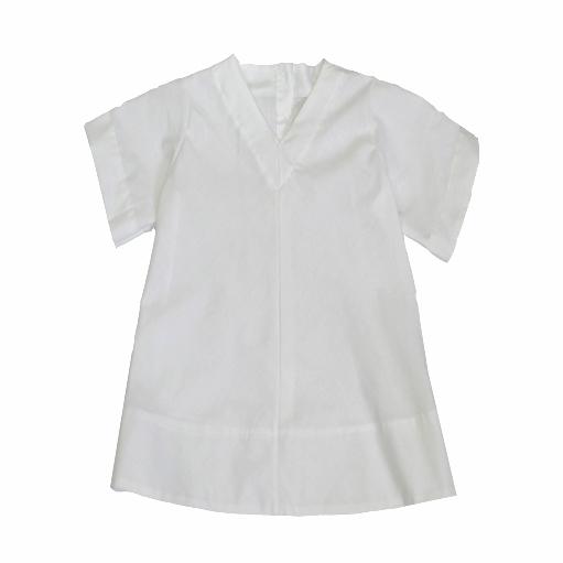 Cotton Sparrow unisex white shirt for children