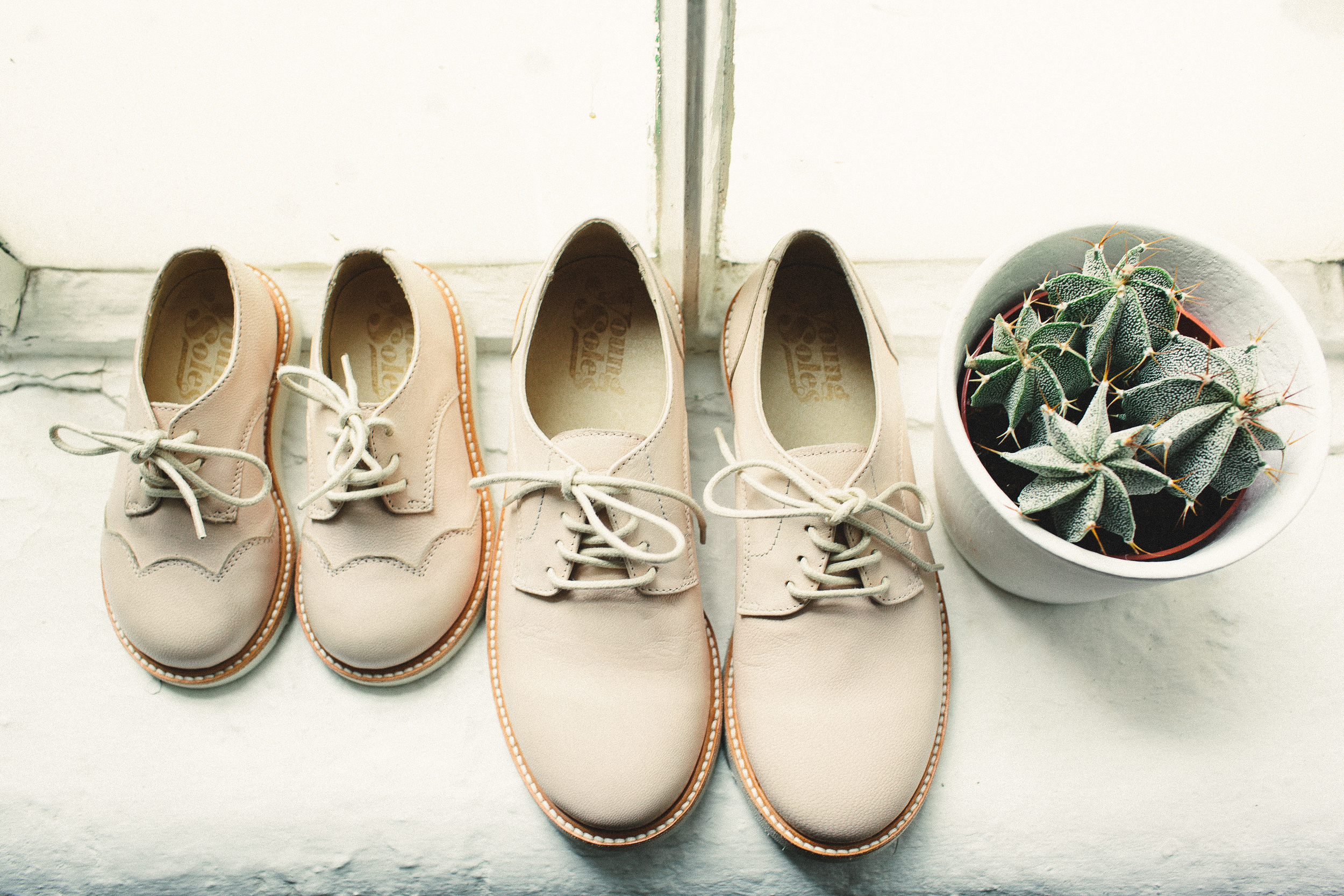 Young Soles Olive Derby Shoes