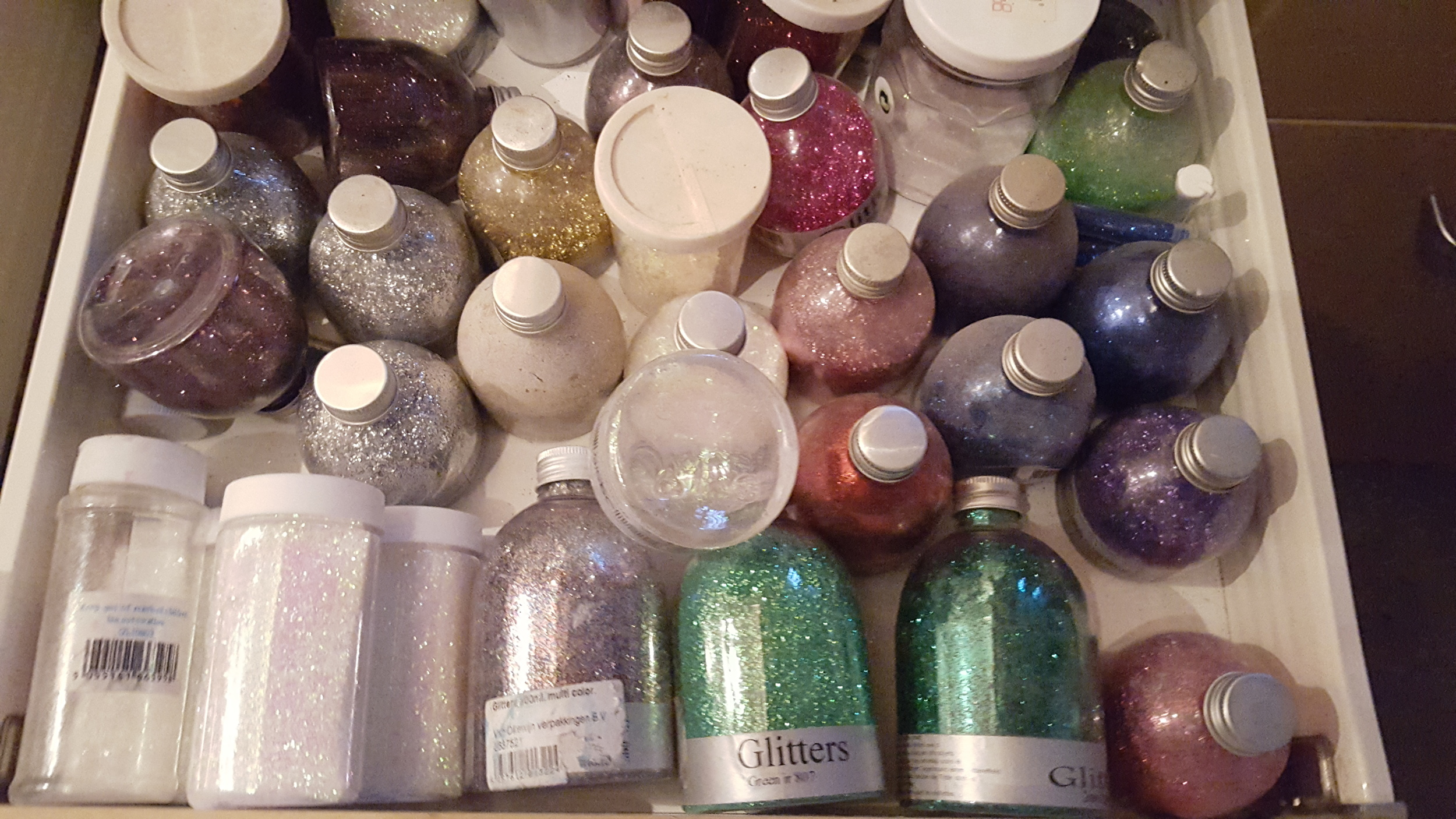 Glitter Drawer. All in One Season workshops