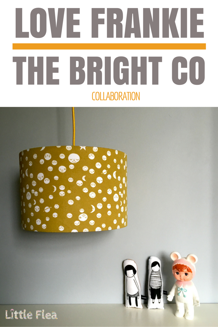 Love frankie and The Bright Company collaboration