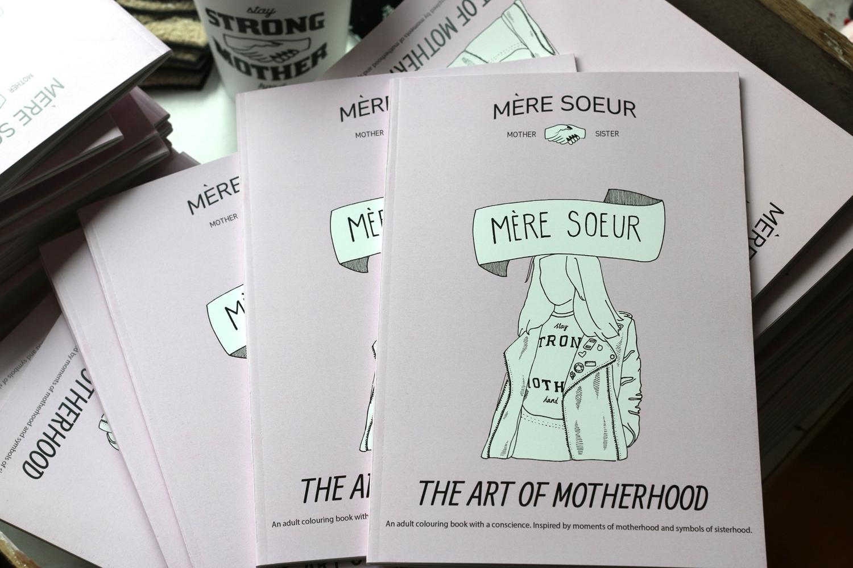 Mere Soeur The Art of Motherhood book launch at Olive Loves Alfie East