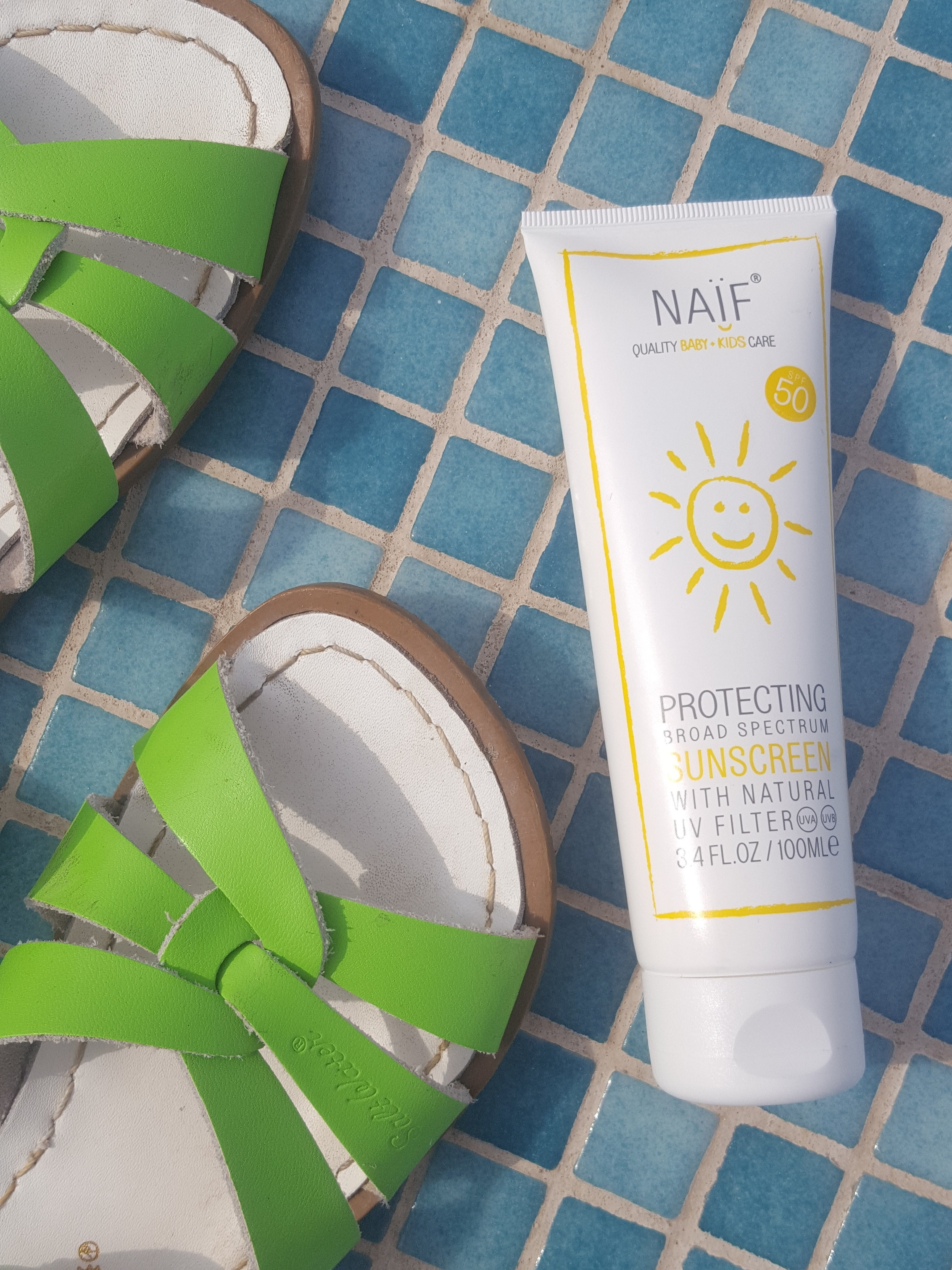 Naif SPF 50 Protecting Sunscreen for babies and kids