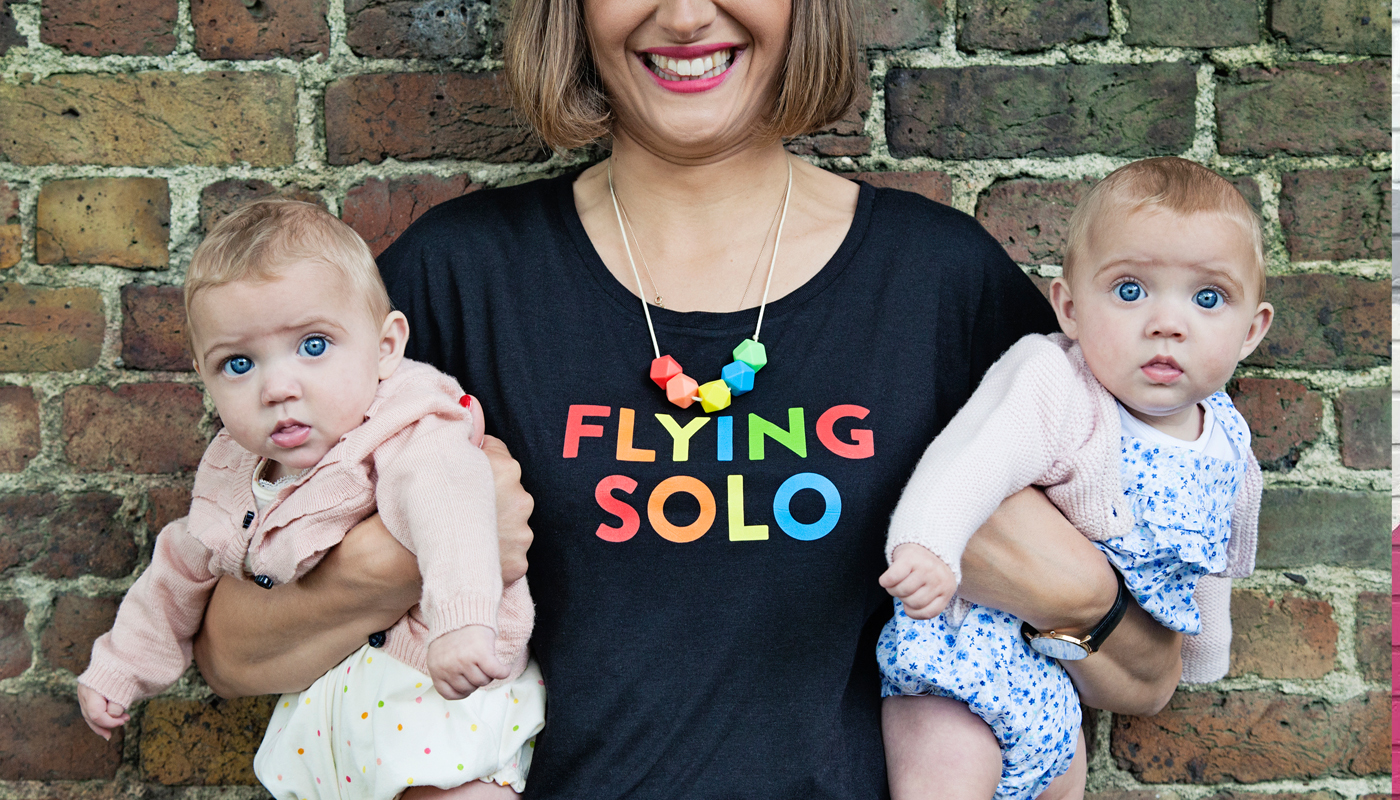 Parent Apparel Flying Solo tshirt