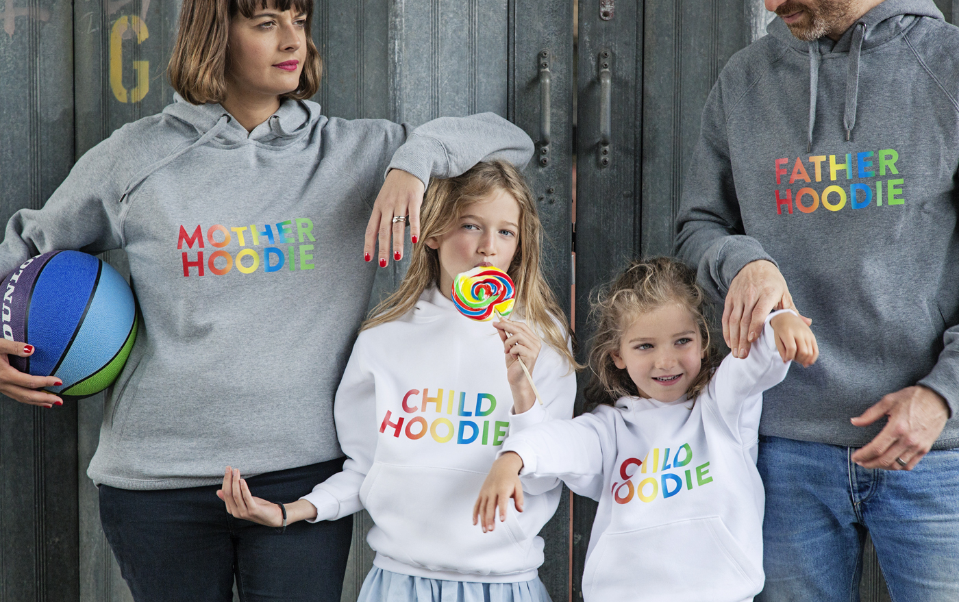 Parent Apparel family hoodies