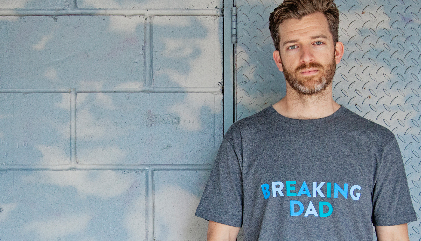 Parent Apparel breaking dad tee