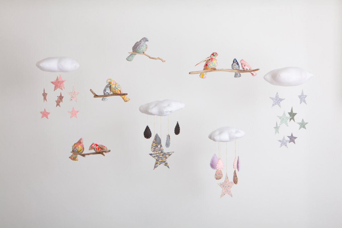 Willa and Bobbin mobiles