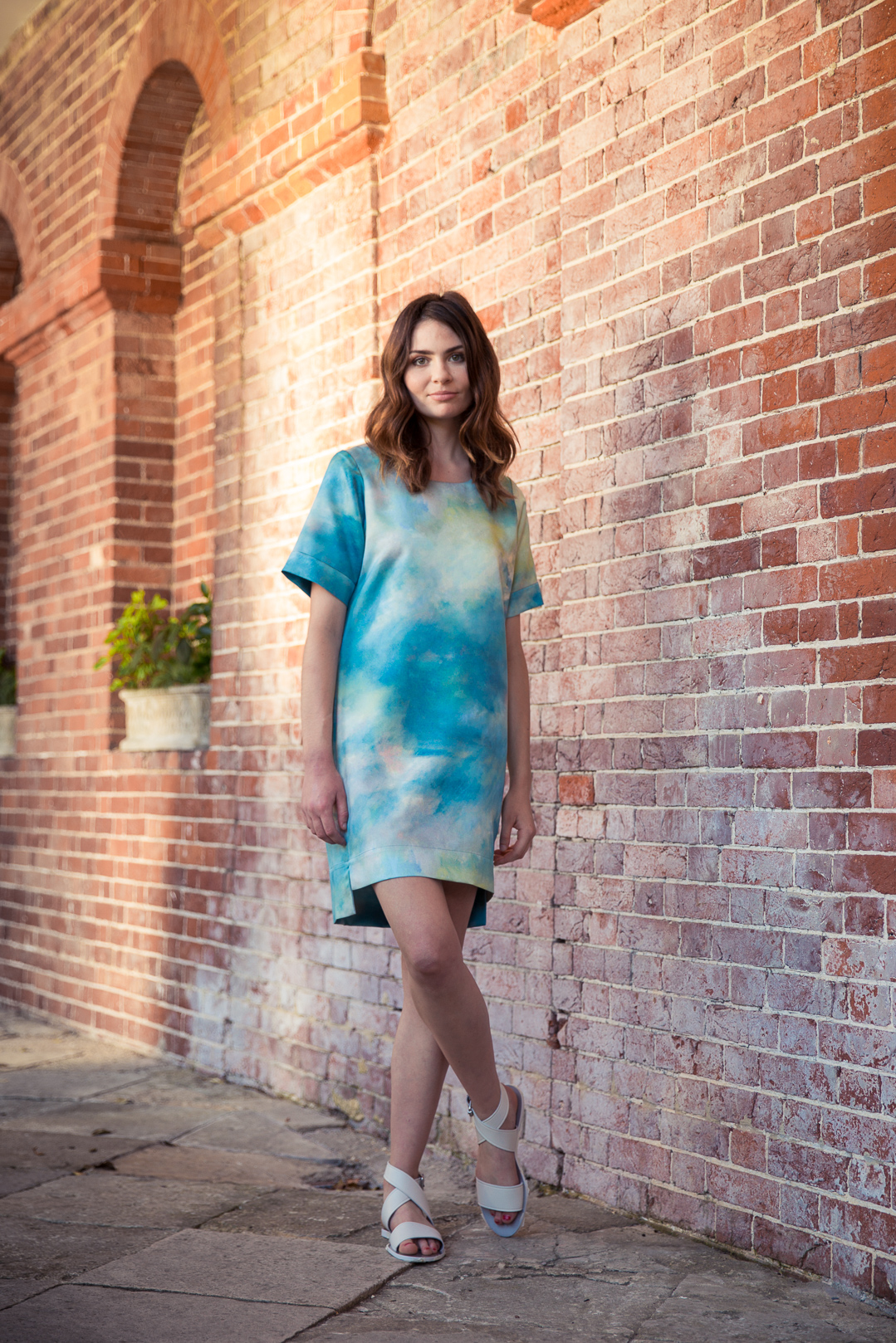 Deborah Campbell and Tabitha Wilson dress A Summer Breeze available at  John Lewis , £135