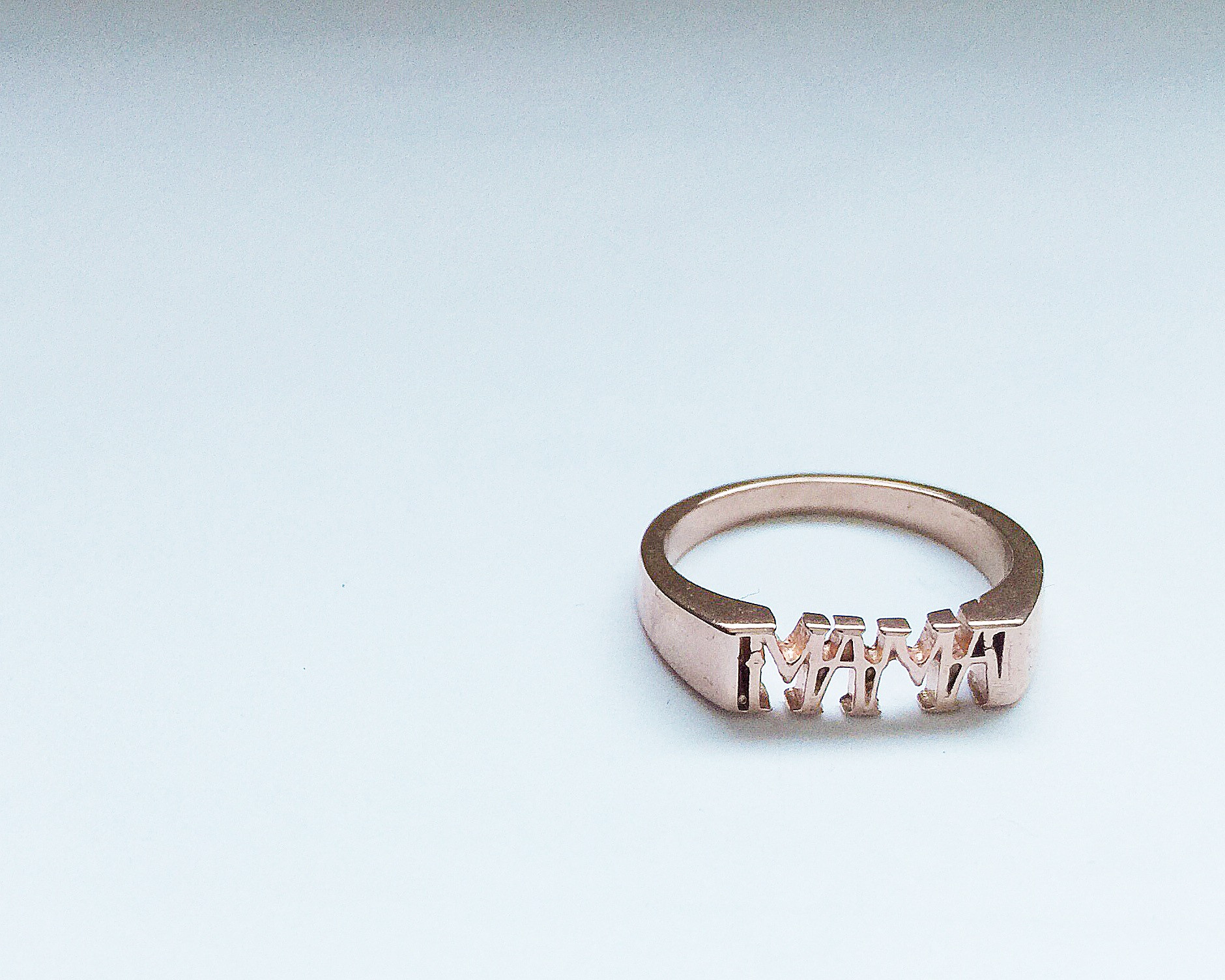 Cult of Youth Mama pinkie ring
