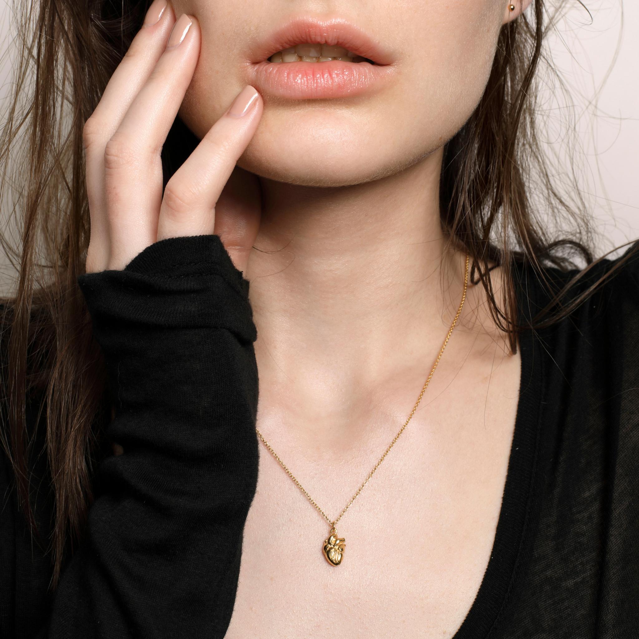 Cadence London heart necklace