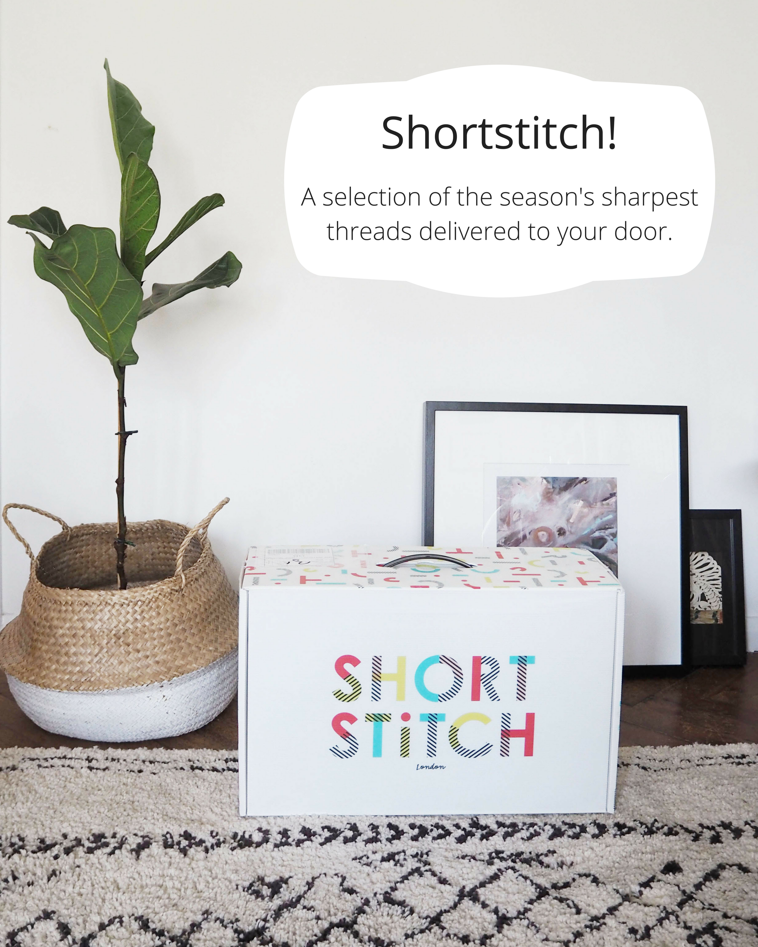 Shortstitch beautifully packaged box delivered to your home full of gorgeous kids clothing and accessories