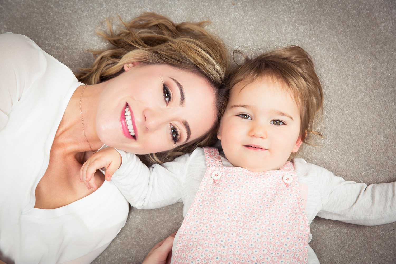 Jo Love, founder of Lobella Loves and her daughter